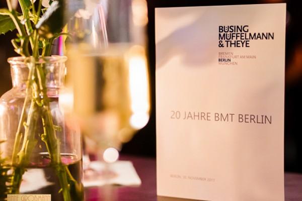 20 Years of BMT Berlin
